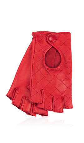 Kate Lady Fingerless Rosso Valentino
