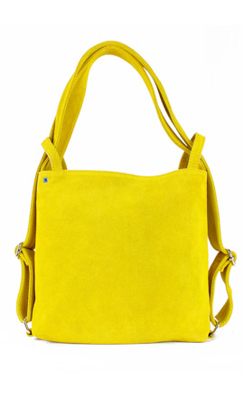 MINI CALIXTE' SUEDE Giallo