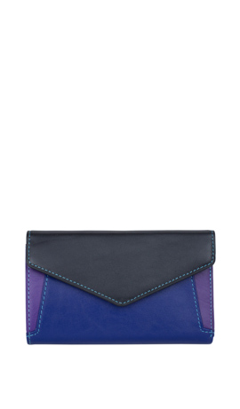 LAVANDA Wallet Lady Medium Nero